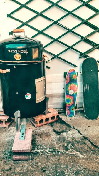 Skate and BBQ
